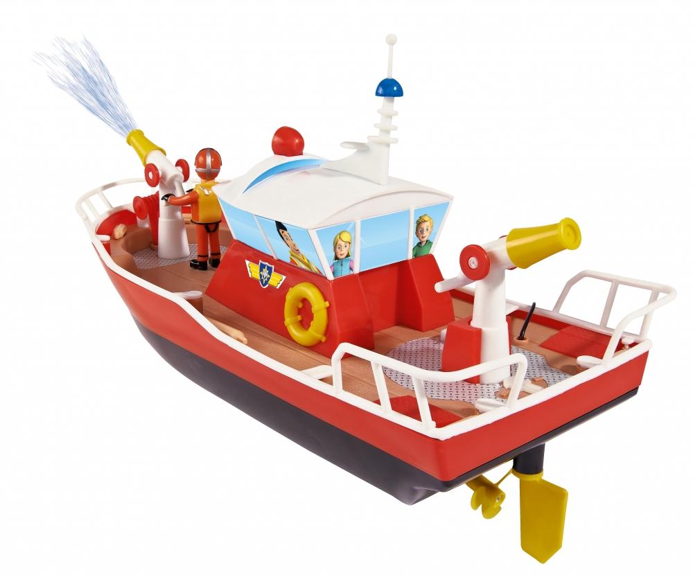 Rc fireman sam titan sam le pompier licences marques produits - Bateau sam le pompier ...