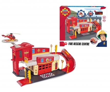 DICKIE Toys Feuerwehrmann Sam Fire Rescue Centre