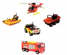 DICKIE Toys Fireman Sam Single Pack