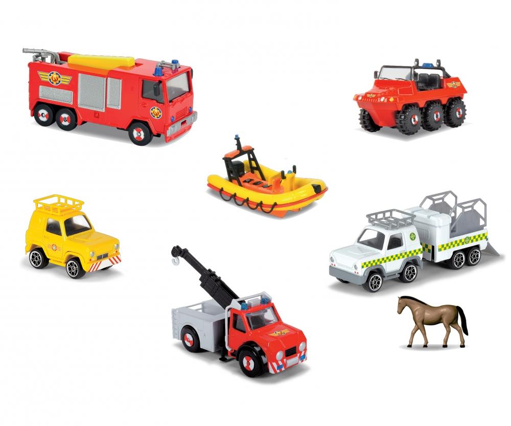 Feuerwehrmann Sam 4 Pack Fireman Sam Licenses Brands