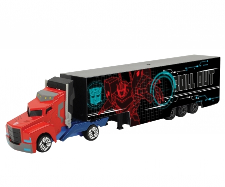 DICKIE Toys Transformers Optimus Prime Trailer