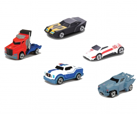 DICKIE Toys Robots in Disguise 5 pack