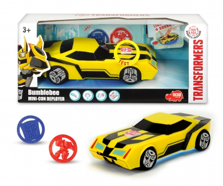 DICKIE Toys Transformers Mini-Con Deployer Bumblebee