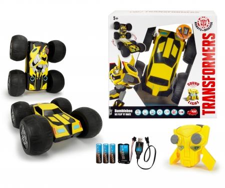DICKIE Toys Transformers RC Flip 'N' Race Bumblebee RTR