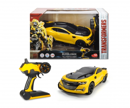 DICKIE Toys Transformers The Last Knight RC Bumblebee 1:18
