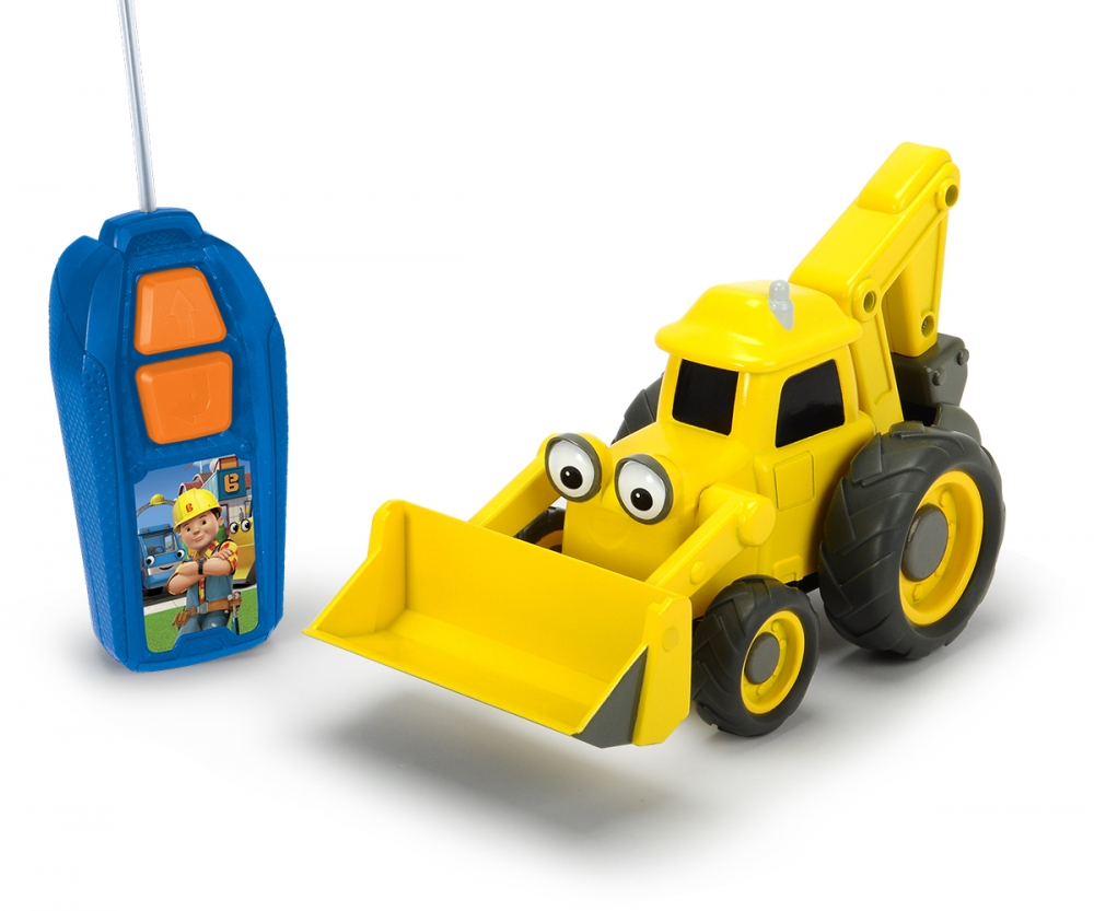 Rc bob the builder scoop licenses brands products www dickie toys rc bob the builder scoop sciox Images
