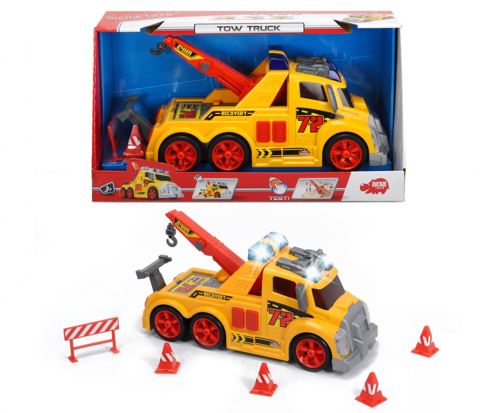 Tow Truck Large Action Series Action Series Brands