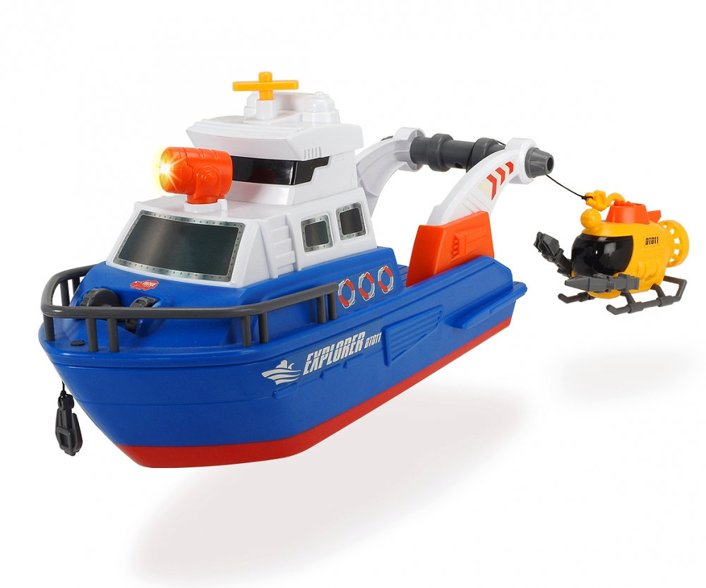 Explorer Boat Large Action Series Action Series
