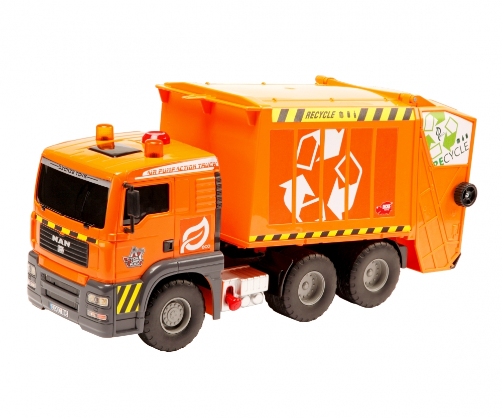 Trucks in Action Pump Action Garbage Truck