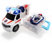 DICKIE Toys Ambulance Push&Play