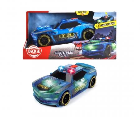 DICKIE Toys Lightstreak Police