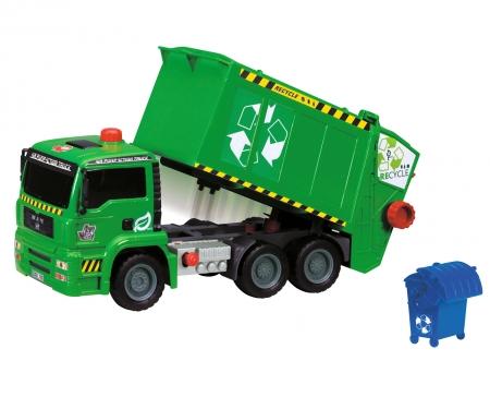 DICKIE Toys Air Pump Garbage Truck