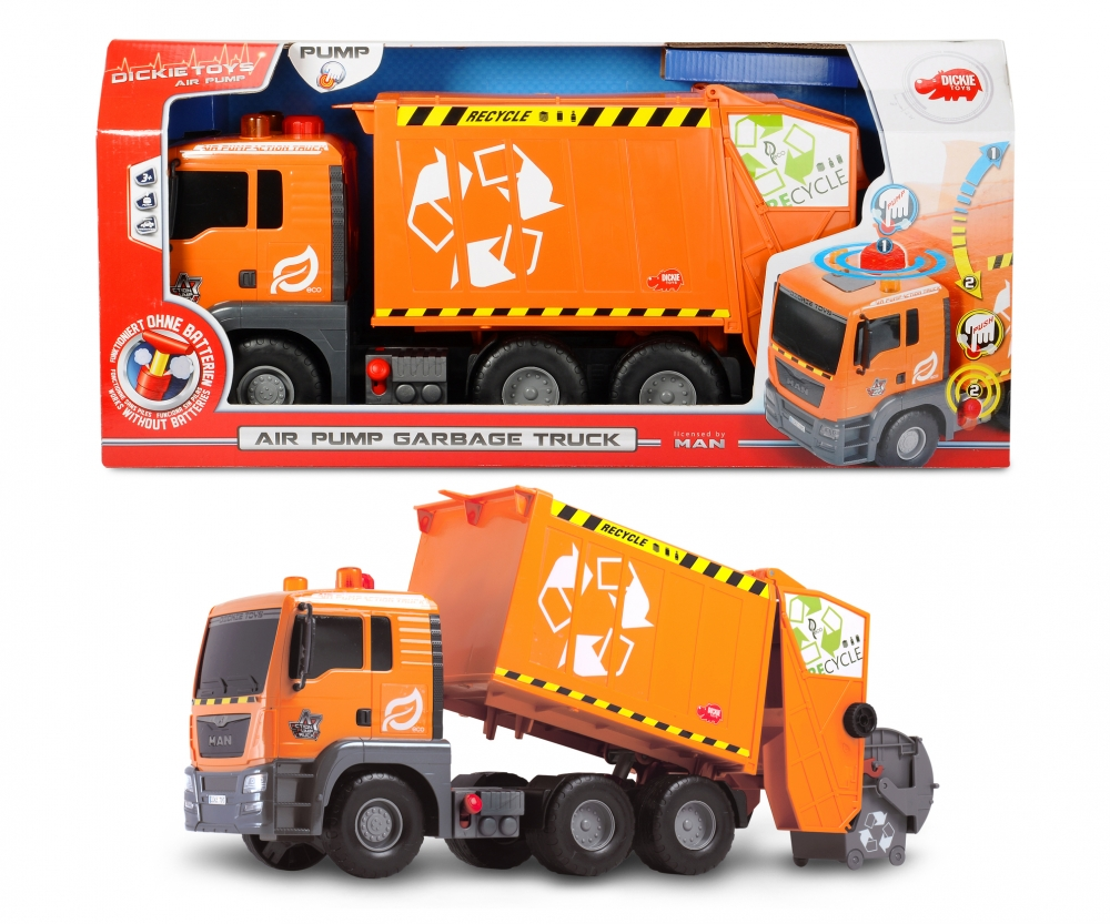 big truck rc with Pump Action Garbage Truck 203809000 on Watch likewise Beautiful Girls And Dirty Jeeps further Best Rc Cars Beginners furthermore Bigfoot the original monster truck moreover Pump Action Garbage Truck 203809000.