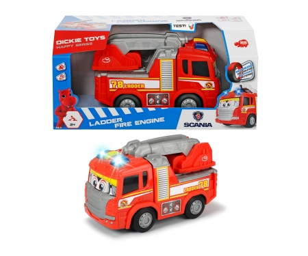 DICKIE Toys Happy Scania Fire Truck