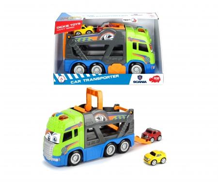 DICKIE Toys Happy Scania Car Transporter