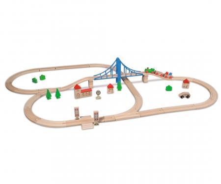 EH Bahn, Bahnset mit Brücke