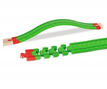 Eichhorn Train, Flex Trax Straight, 28 pcs.