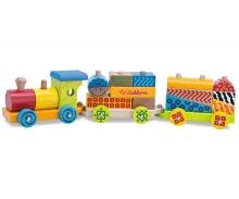Eichhorn Color, Wooden Train