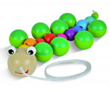 EH Pull-along Animal, Catarpillar