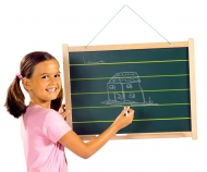 Eichhorn Large Black Board
