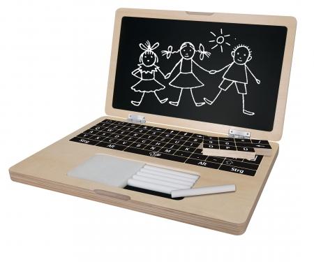 Eichhorn Laptop mit Puzzle, 14-tlg.
