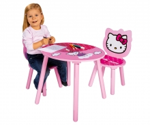 Hello Kitty Table+Chairs
