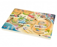 Cars 2 Schiebe Puzzle