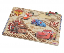 Cars 2 Pin Puzzle