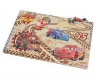 Cars 2 Steckpuzzle