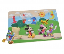 Mickey Mouse Clubhouse Steckpuzzle