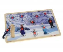 Frozen Steckpuzzle