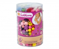 EH Wooden Pearls in Bucket