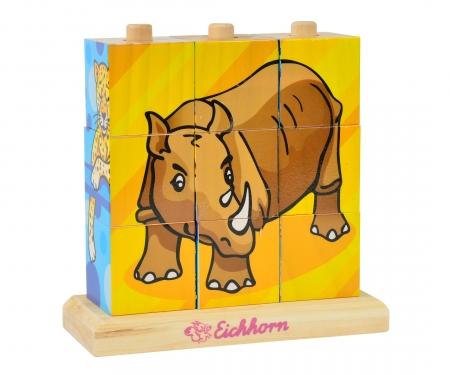 Eichhorn Bilderwürfel-Puzzle