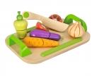 Eichhorn Schneidebretter;  Set mit Gemüse
