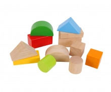 Eichhorn Large Wooden Baby Blocks