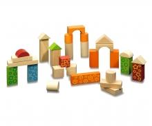 Eichhorn 60 Wooden Blocks