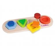 Eichhorn 3D Lift Out Puzzle, Forms