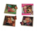 Masha and the Bear Einlegepuzzle