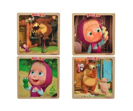 Masha and the Bear Einlegepuzzle