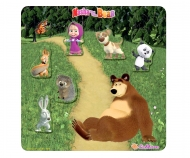 Masha and the Bear Magnetpuzzle