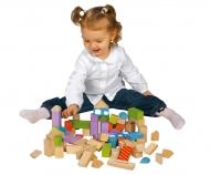 KiKANiNCHEN 50 Wooden Blocks