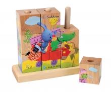 KiKANiNCHEN Picture Cube Puzzle