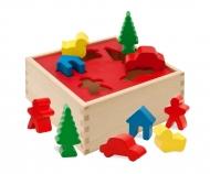 HEROS Holzbox-Steckspiel