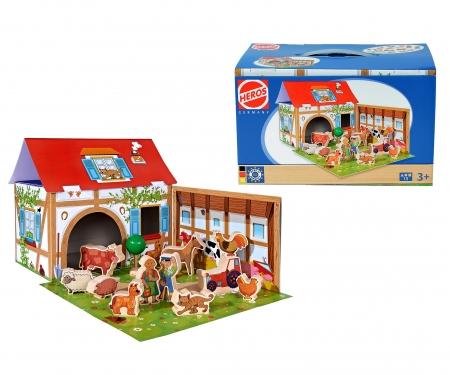 HEROS  Farm, Playset with 12 Figures