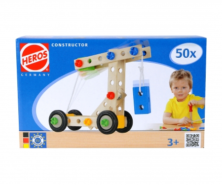 HEROS Constructor 50-tlg.