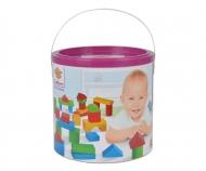 HEROS Holzbausteine Baby-Box 50