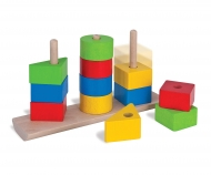 HEROS Shapes Stacking Puzzle