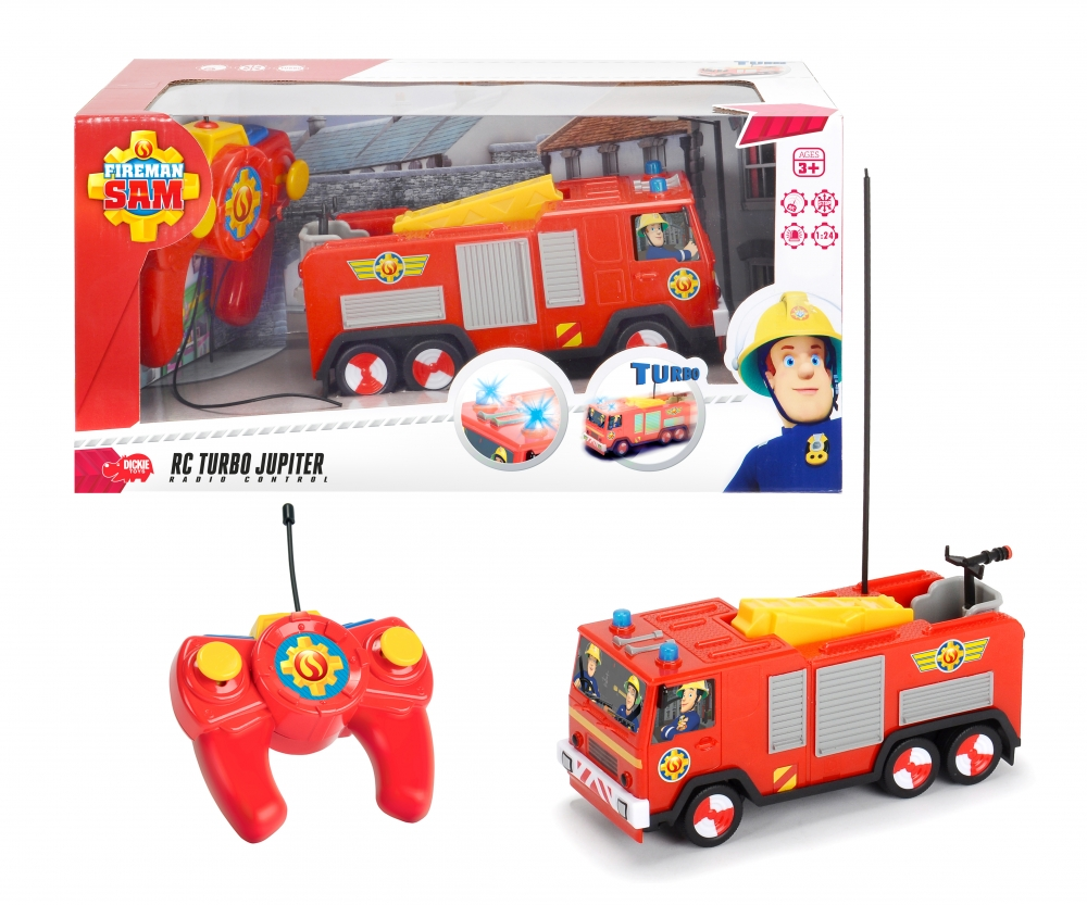 Sam le pompier rc 1 24 jupiter radio commande sam le pompier marques produits www - Bateau sam le pompier ...