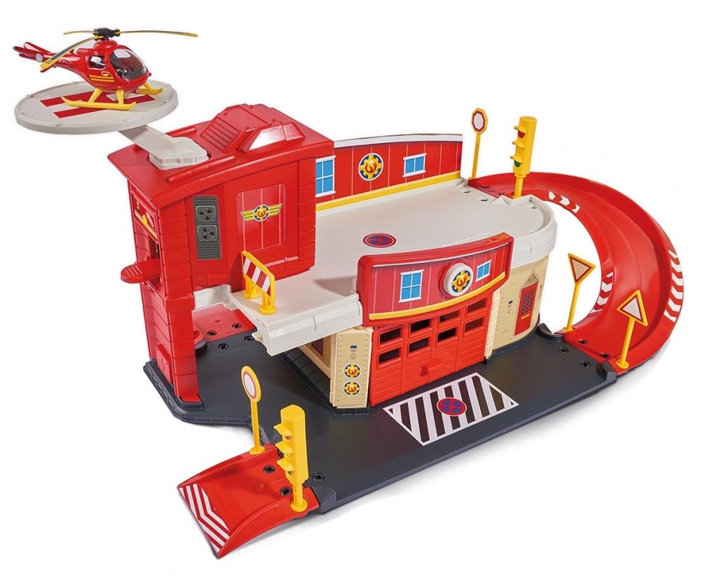 sam le pompier centre de secours die cast et accessoires. Black Bedroom Furniture Sets. Home Design Ideas