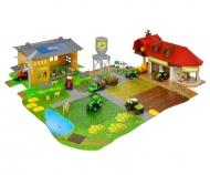Creatix Farm Big Playset + 1 Tractor + 1 Trailer